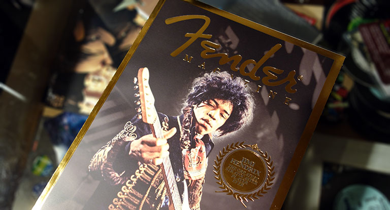 Fenderの本