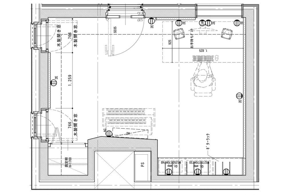 ギター部屋計画(2)